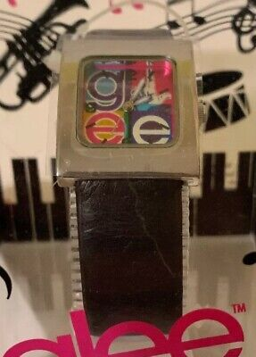 New Glee Watch 2011 Black band And Multicolored Face ()