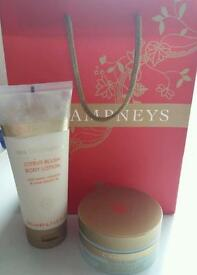 Brand new unopened Champney gift set