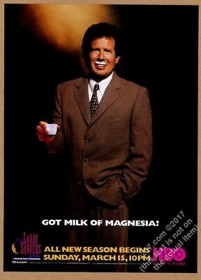 1998 Garry Shandling Photo The Larry Sanders Show HBO Vintage Print Ad - $8.09