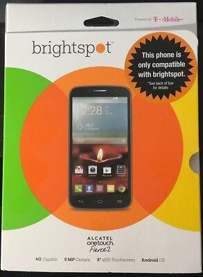 """BrightSpot No Contract Prepiad ALCATEL ONETOUCH Fierce 2 5"""" qHD Touch Screen"""