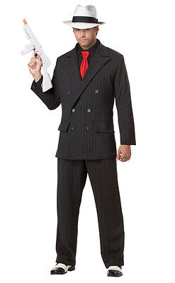 Mob Boss Adult Costume Al Capone Gangster Style