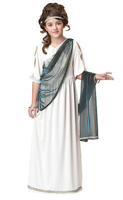Roman Greek Egyptian Princess Child Costume](Egyptian Kids Costumes)