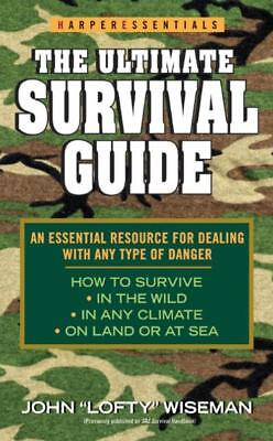 THE ULTIMATE SURVIVAL GUIDE - WISEMAN, JOHN - NEW PAPERBACK BOOK