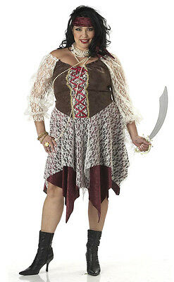 South Seas Siren Pirate Buccaneer Adult Plus Size - Women's Plus Size Pirate Costume