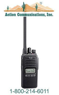 New Icom Ic-f1000s-90 Vhf 136-174 Mhz 5 Watt 128 Channel Two Way Radio