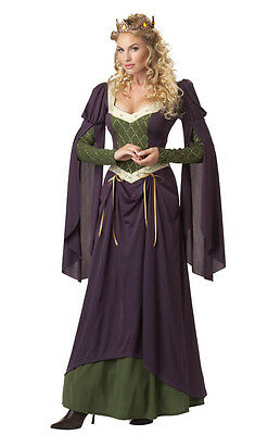 Medieval Lady In Waiting Costume (Lady in Waiting Maid Marian Medieval Renaissance Adult)