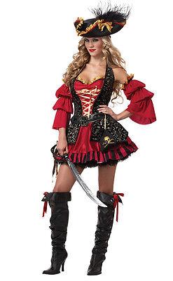 Sexy Spanish Pirate Buccaneer Adult Costume - Spanish Pirate Costume