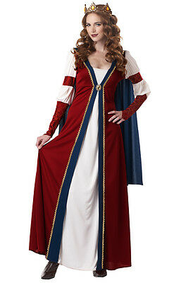 Renaissance Queen Adult Costume Medieval Theme