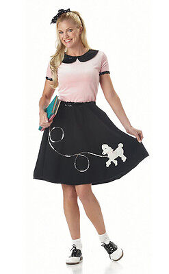 Grease 50's Hop Poodle Skirt Adult Costume (Grease Poodle Skirts)