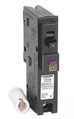 10 Pcs Square D Homeline Hom115df Hom115dfc Dual Function Afcigfci 15a  New