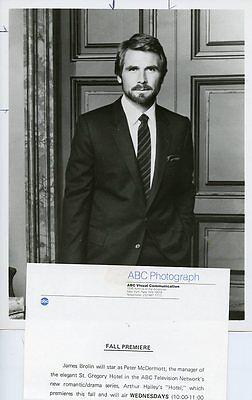 JAMES BROLIN HANDSOME PORTRAIT HOTEL ORIGINAL 1983 ABC TV PHOTO