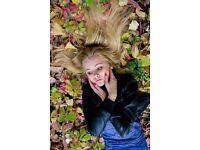 Audition for studio fashion photography female modeling