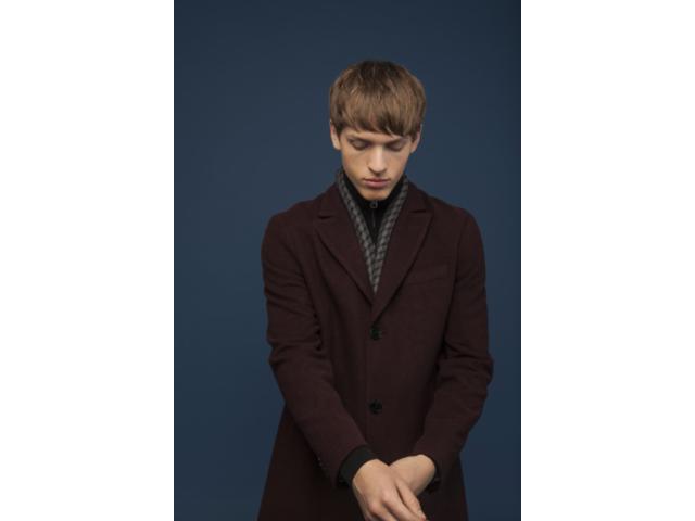 Matinique® Malto P Wool Blend Coat/Claret - Small Ticket Price £229.00