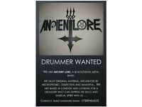 Wanted - Black/death metal drummer