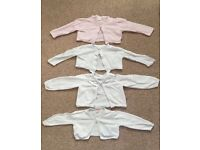 4 Debenhams 12-18 month baby girl cardigans