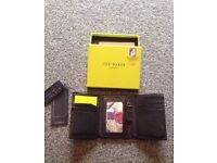 Ted baker tri-fold wallet. New