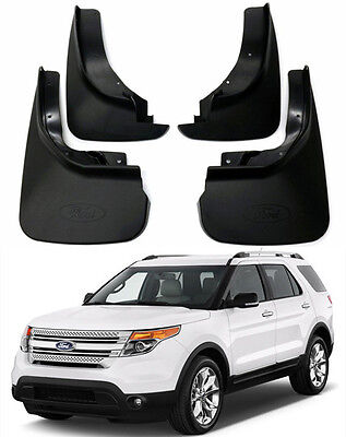 New OEM Set Splash Guards Mud Flaps BB5Z16A550AA/BB FOR 2011-2017 Ford Explorer