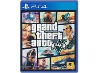 GTA V for the Playstation 4, ps4 , £20 only, no offers please
