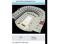 DRAKE TICKETS for sale @ London 02 arena on Sunday 5th Feb.