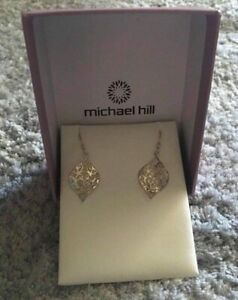 Earrings brand new Stirling silver