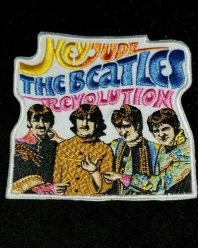 Beatles Hey Jude Iron on patch