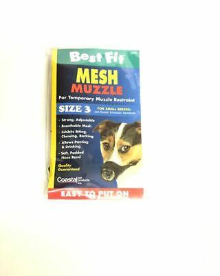 Mesh Dog Muzzle S,M,L Best Fit Mesh Dog Muzzle Dog Muzzle Restraint Best Fit Dog Muzzle