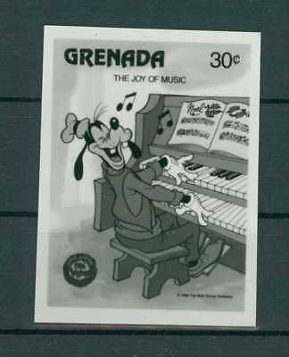 GRENADA WALT DISNEY GOOFY PHOTO-ESSAY FOTO-ESSAY PROOF UPU ARCHIV RARE!! h2337