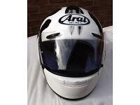 Arai Samuri motorcycle helmet, Medium, with extras