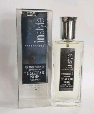 In Style Fragrance Men's Perfume Inspired by Guy Laroche Drakkar Noir  3.4 oz