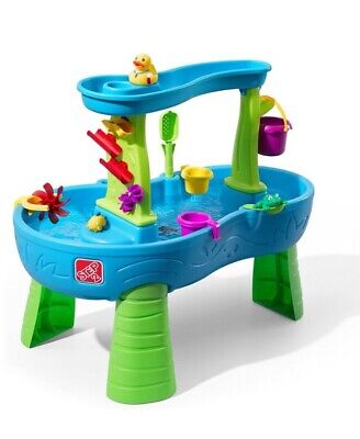 Small Kids Table (Kids Pond Water Table Playset Rain Showers Splash Small Pack Multi Colored)