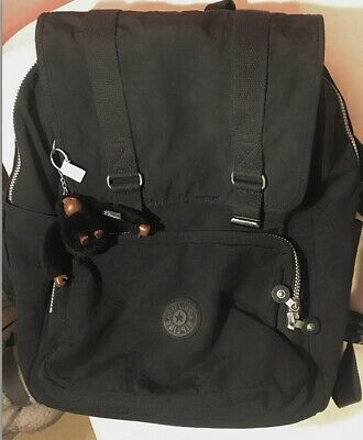 Kipling Odell Black Large Backpack With Laptop Compartment