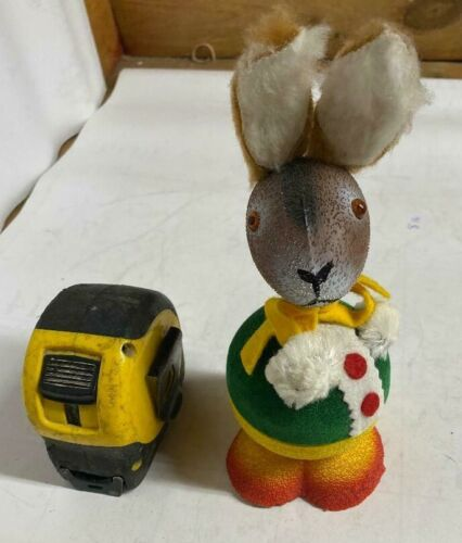 Vintage Early German Easter Rabbit Candy Container