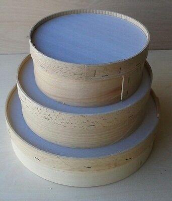 Setaccio per farina in legno di faggio cm25
