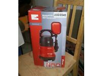 Dirt water pump, Einhell, GH DP 3730