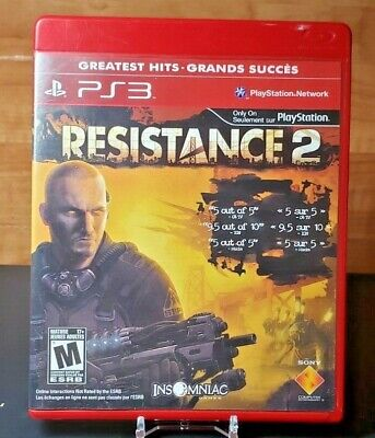 RESISTANCE 2 ( Sony PlayStation 3, 2008 ) Complete & Tested PS3 Game for sale  Shipping to Nigeria