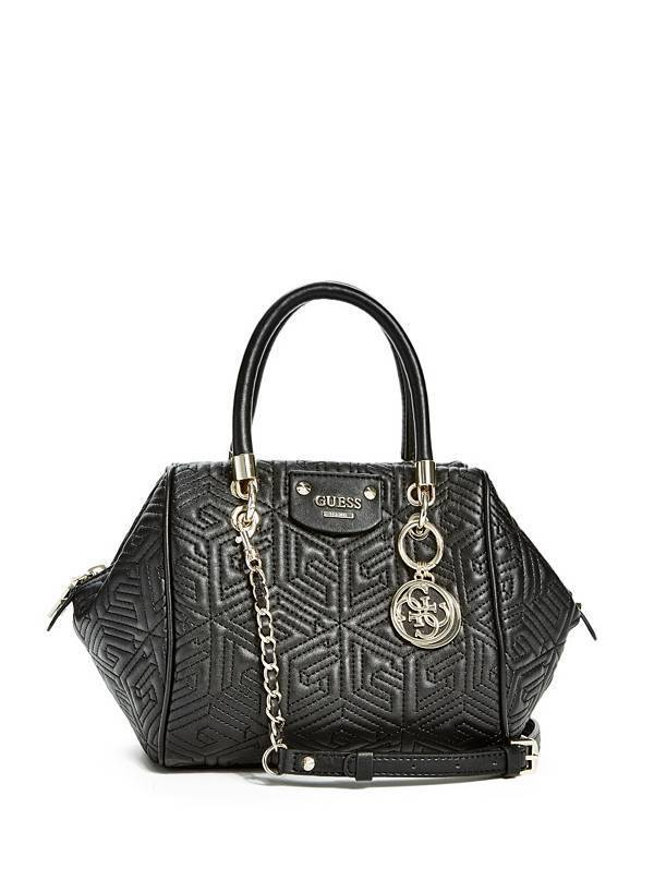 G CUBE QUILTED SMALL SATCHEL Adjustable Handbag For Women's,