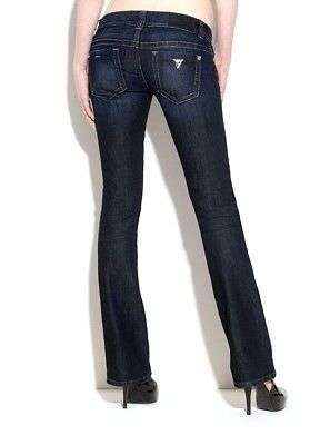 Guess pour Femme Daredevil Jeans Bootcut - Crx Lavage Sz