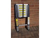 3.75m TelescopLadder with handy carry and storage bag/case, excellent condition