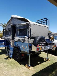 PMX camper trailer Stirling GT only a year old