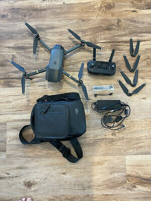 DJI MAVIC Pro Quad-copter Drone with Slight Control, Case, Battery & Extras