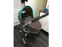 Quinny Buzz Pram / Pushchair + Maxi Cosi Car Seat + Accessories
