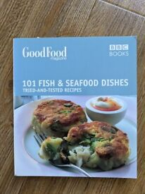 Recipe book - Cookbook - BBC Good Food - 101 Fish and seafood dishes - 215 pages