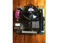 Intel DG41MJ LGA775 Mini-ITX With BP, Intel E8400 cpu and 2x2gb ram