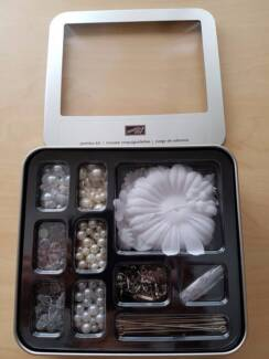 Scrapbooking accessories - Pearls, Crystals, Flowers and Pins