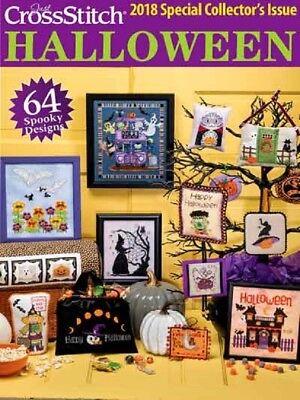 Halloween Cross Stitch Magazine (Cross Stitch Pattern Magazine Book HALLOWEEN 2018 / Christmas~ Just)