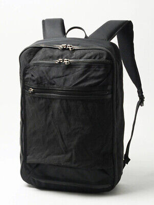 NWT $405 Master-piece x Rebirth Project 2-Way Backpack | Black
