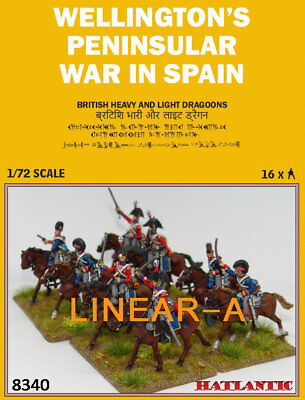 1:72 FIGUREN 8340 British Dragoons Sampler - HÄT NEU