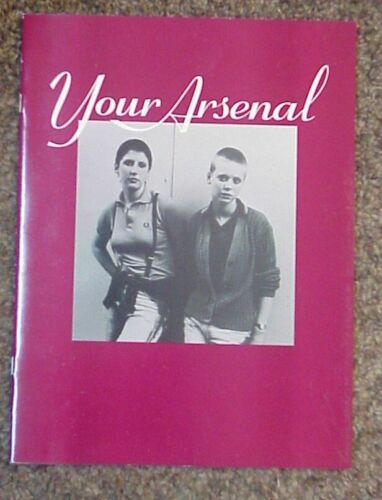 Morrissey Your Arsenal Tour Book brown Mint CONDITION (The Smiths) !