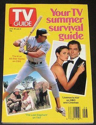 TV Guide June 1990-TV Summer Survival Guide