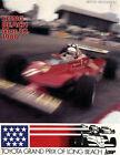 Gilles Villeneuve Formula 1 Racing Fan Apparel/Souvenirs